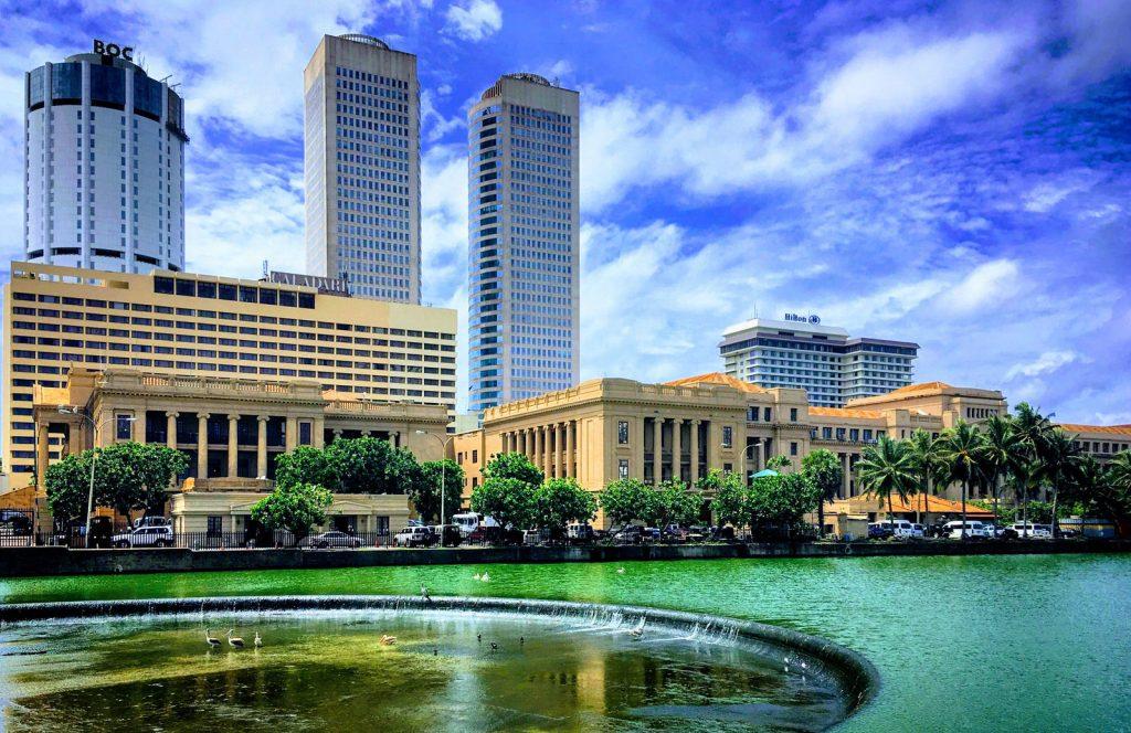 Colombo skyline, Sri Lanka