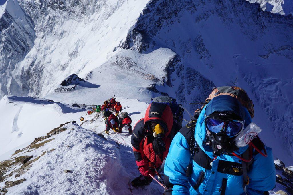 Everest climbers