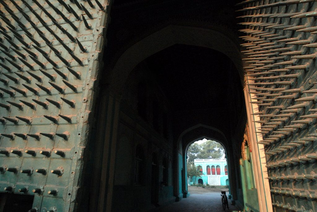 Armoured gateway at Faridkot