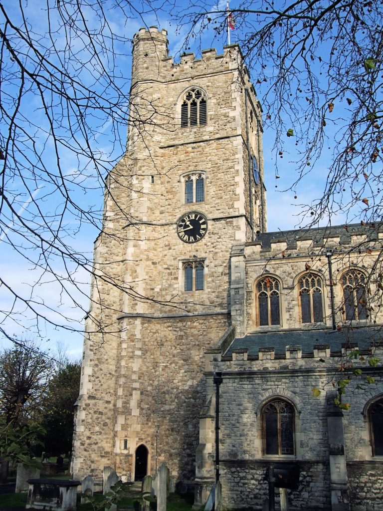 All Saints Church in Fulham, a  shooting location in The Omen