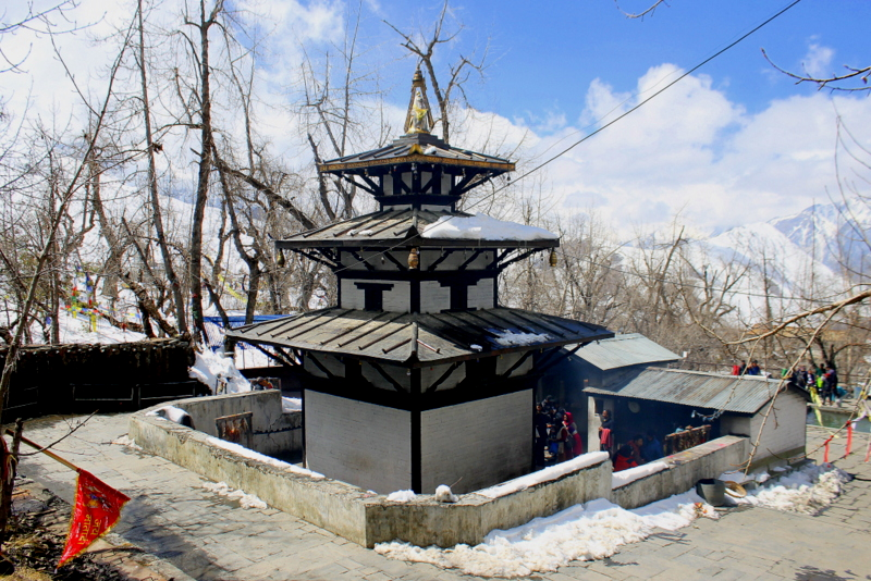Muktinath Temple, a shakti peeth in Nepal