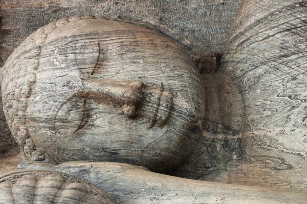 Carved Buddha at Polonnaruwa, Sri Lanka