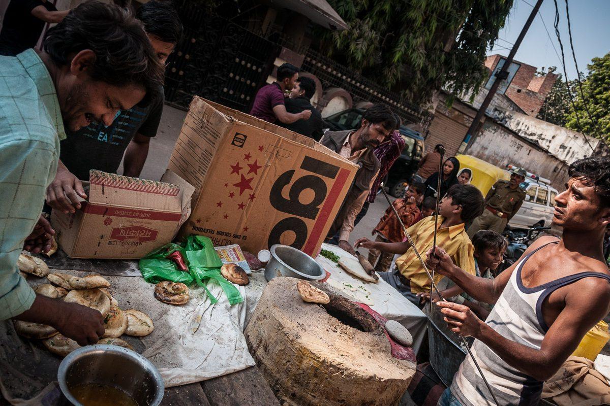 India's strangest street food