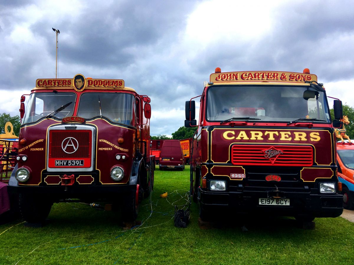 Carter's Steam Fair: keeping British trucks alive