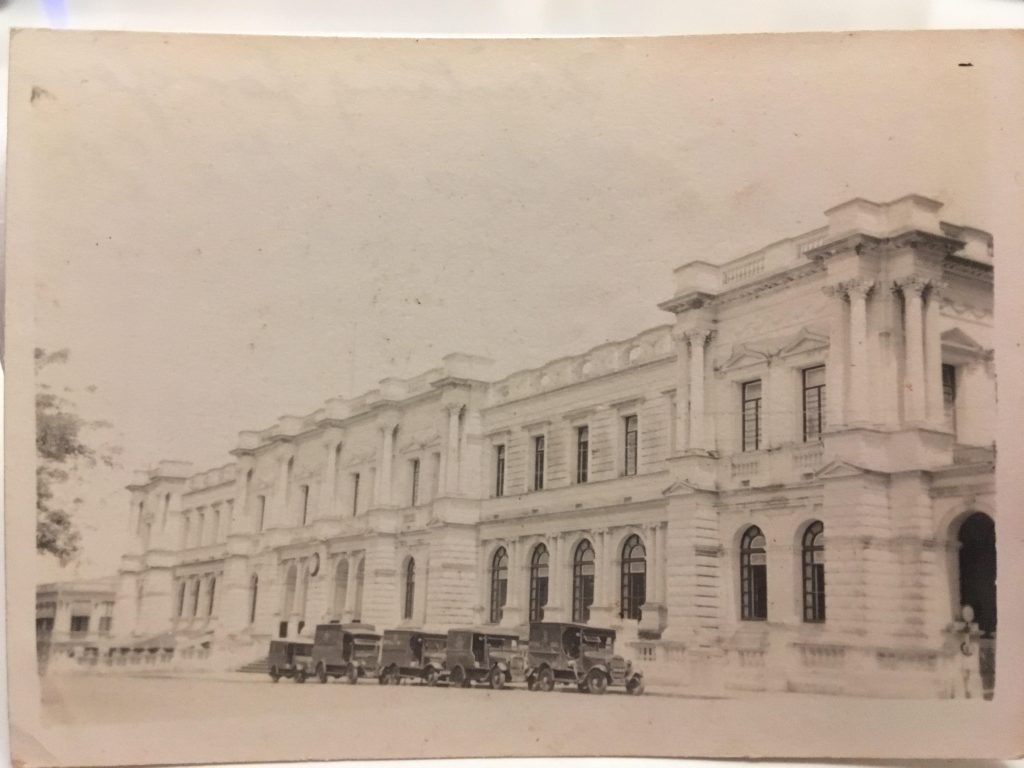 Ceylon General Post Office, Colombo, circa 1928